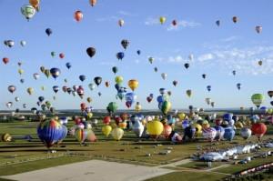 records insolites 2013 montgolfière