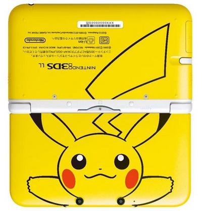 3DS représentant Pikachu