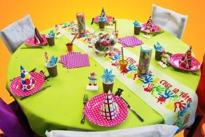 Une décoration pour un anniversaire d'enfant pour les sélections d'anniversaires