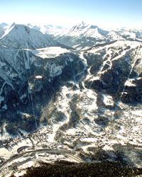 Piste de ski effrayante pour les sélections enneigées de 2014