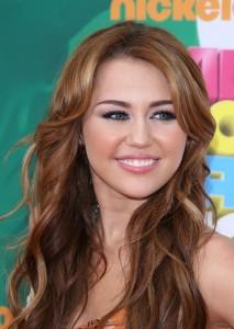 Miley Cyrus dans les débuts de sa carrière