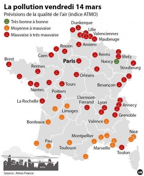 Actualités mars 2014 pollution