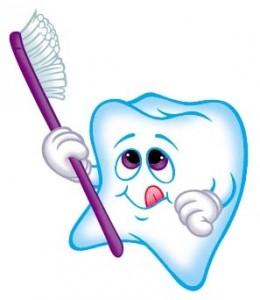 Se brosser les dents est un des conseils pour réussir sa première fois