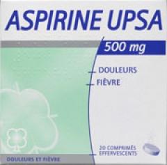 boite d'aspirine