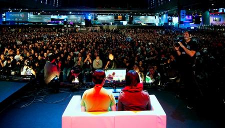 Grand rassemblement de progamers