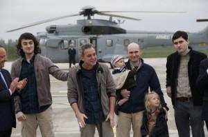 Après plusieurs mois d'absence, les quatre journalistes sont enfin en sol français.