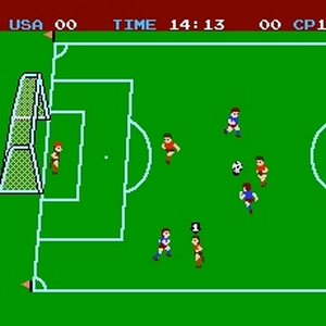 Premier jeu de football