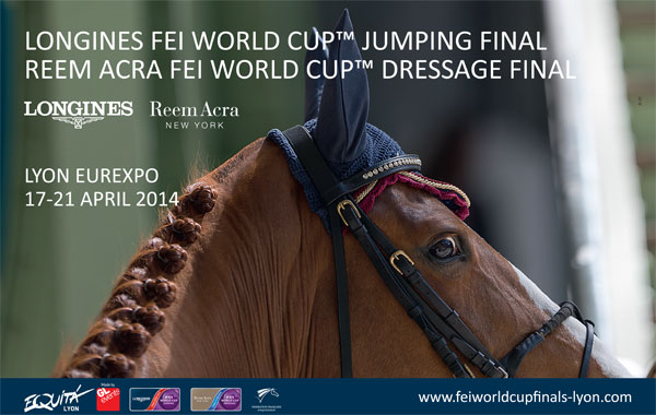 Finale de la FEI World Cup Jumping et Dressage 2014