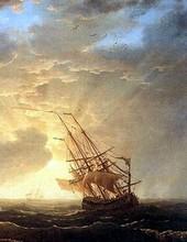 Il s'agit du navire du Vaisseau d'or, le poème d'Émile Nelligan.