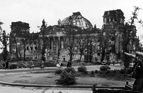 Reichstag incendié