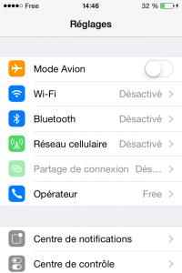 Désactiver Wifi et 3G pour améliorer l'autonomie du téléphone portable