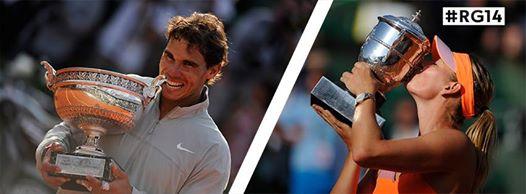 Nadal Sharapova vainqueurs Roland Garros 2014