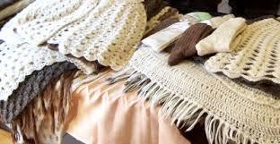 Produits en laine d'alpagas