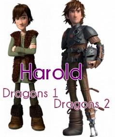 L'évolution d'Harold