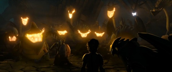Scène du film Dragons