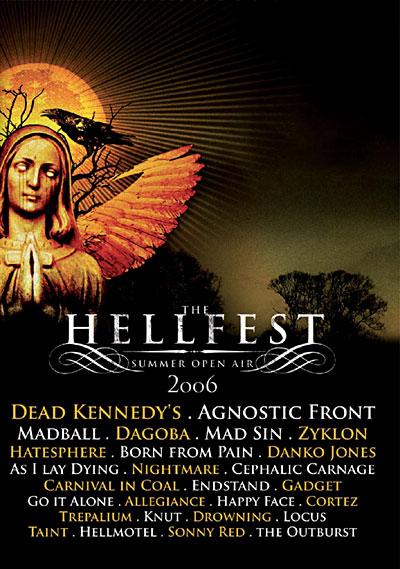 Affiche du Hellfest 2006
