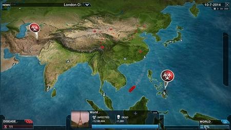 Aperçu de la carte du monde sur la version complète du jeu