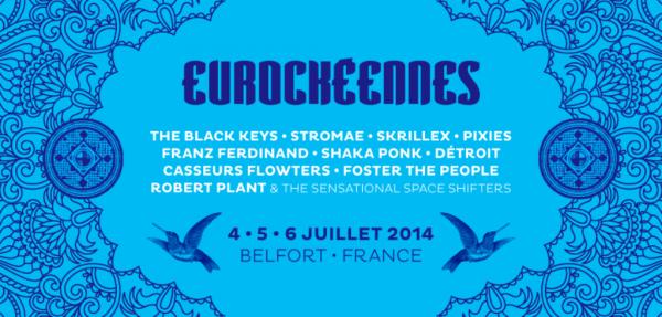 Les premiers noms des Eurockéennes 2014
