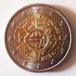 Pièces 2€ commémorative Euro