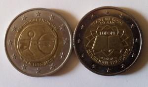Pièces 2€ commémorative Euro Rome