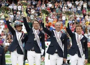 Résultats des Jeux Equestres Mondiaux 2014 saut d'obstacles