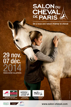 Salon du Cheval 2014 affiche