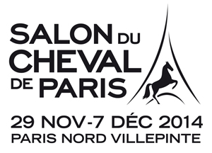 Logo salon cheval 2014