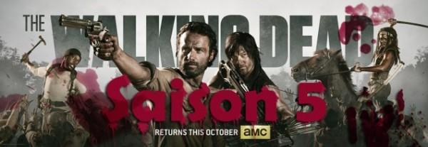Actualités octobre 2014 Saison 5 de The Walking Dead