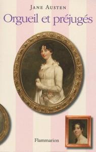 Ceci est la page couverture de l'une des éditions d'Orgueil et Préjugés de Jane Austen