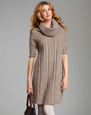 Une robe en laine est parfaite pour ceux qui ont froid
