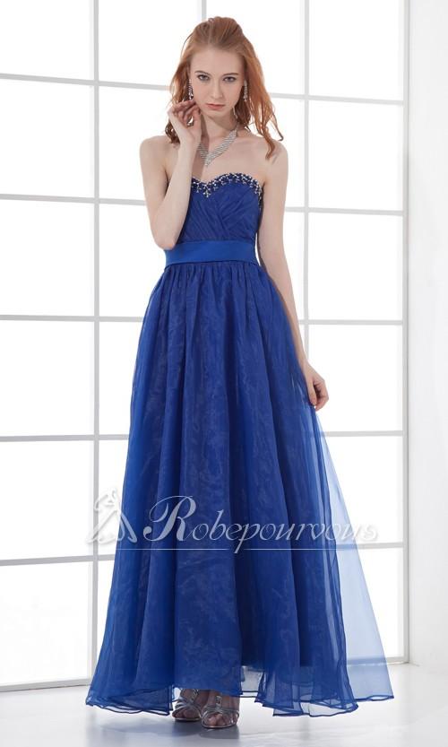 Une robe en organdi est parfaite pour les soirées très chics