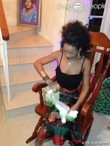 Cadeau de Noël de people Rihanna