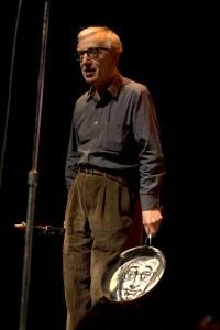 Cadeau de Noël de people Woody Allen