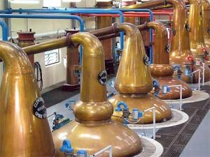 Le célèbre Whisky de Glenfiddich