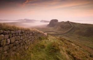 Une vieille frontière délimitant la terre des Scots de celle des Romains.