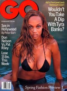 Tyra Banks a fait la couverture du GQ en 1996
