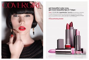 Un contrat avec CoverGirl était offert à la gagnante d'America's Next Top Model, l'émission de Tyra Banks