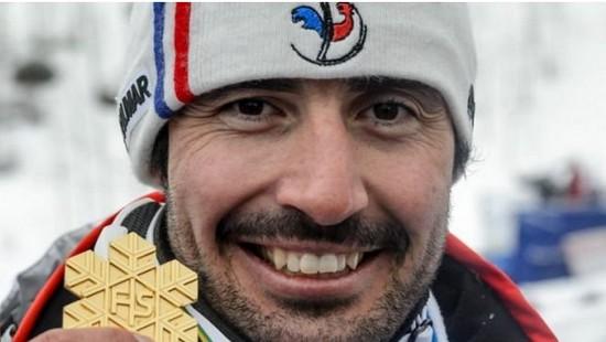 champion de slalom