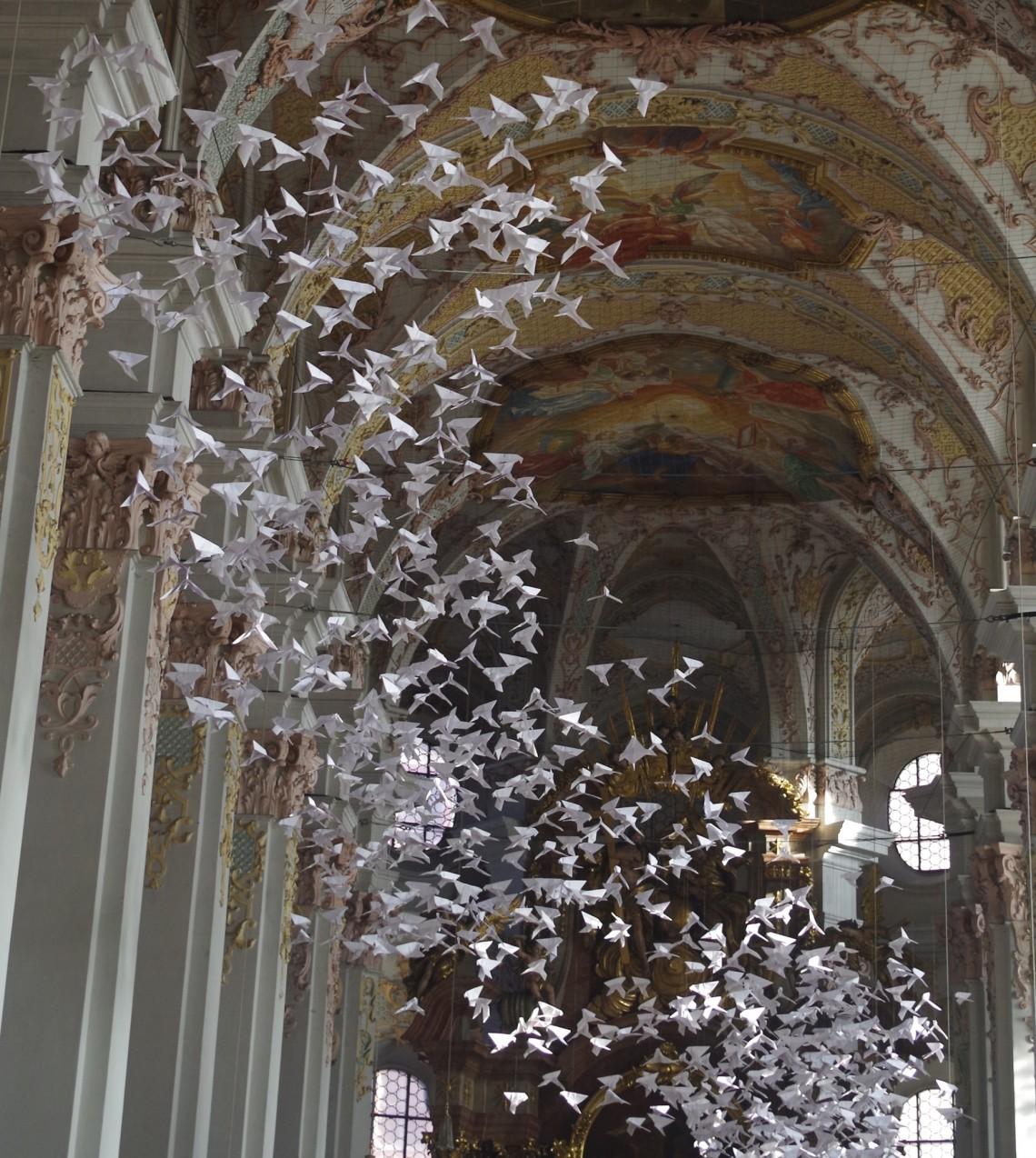 De l'art avec du papier : l'exemple de l'origami