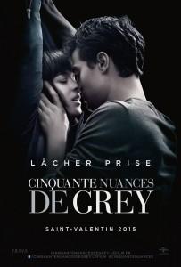 Cinquante Nuances de Grey sorti au cinéma le 11 février