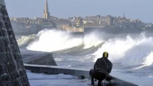 Marée du siècle Saint Malo