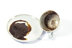 Cette méthode utilise le marc de café