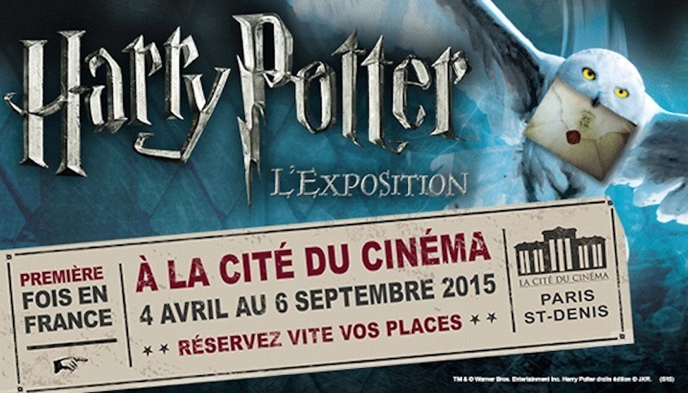 Exposition Harry Potter Paris