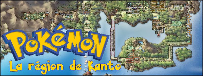 Pokémon, la région de Kanto