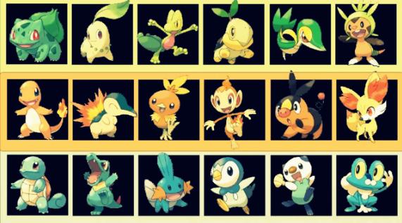 Quel type de Pokémon de départ est fait pour vous ?