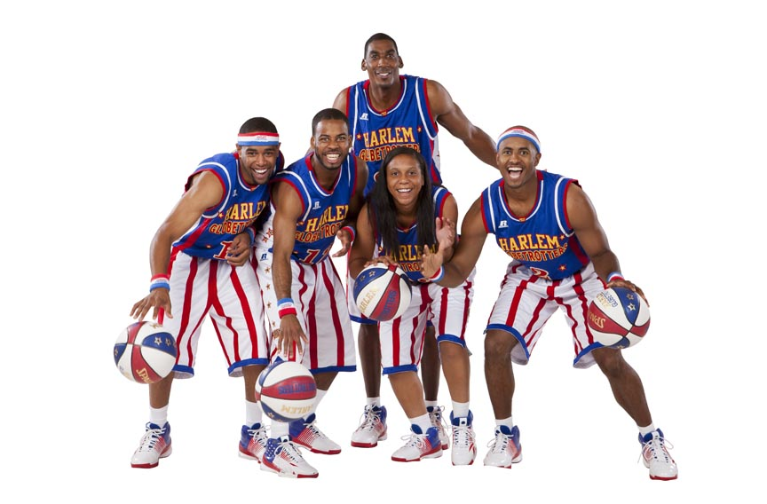 Photo des Harlem Globetrotters
