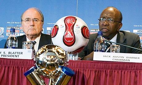 Scandale de la FIFA avec Jack Warner