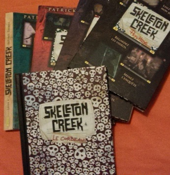 Les 4 tomes de Skeleton Creek