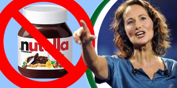 Ségolène Royal contre le Nutella