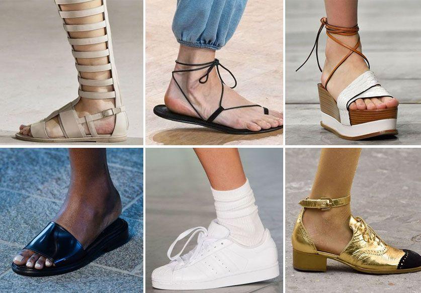 une sélection de chaussures pour l'été 2015